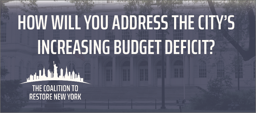 How Will You Address the City's Increasing Budget Deficit? - Facebook Cover Photo