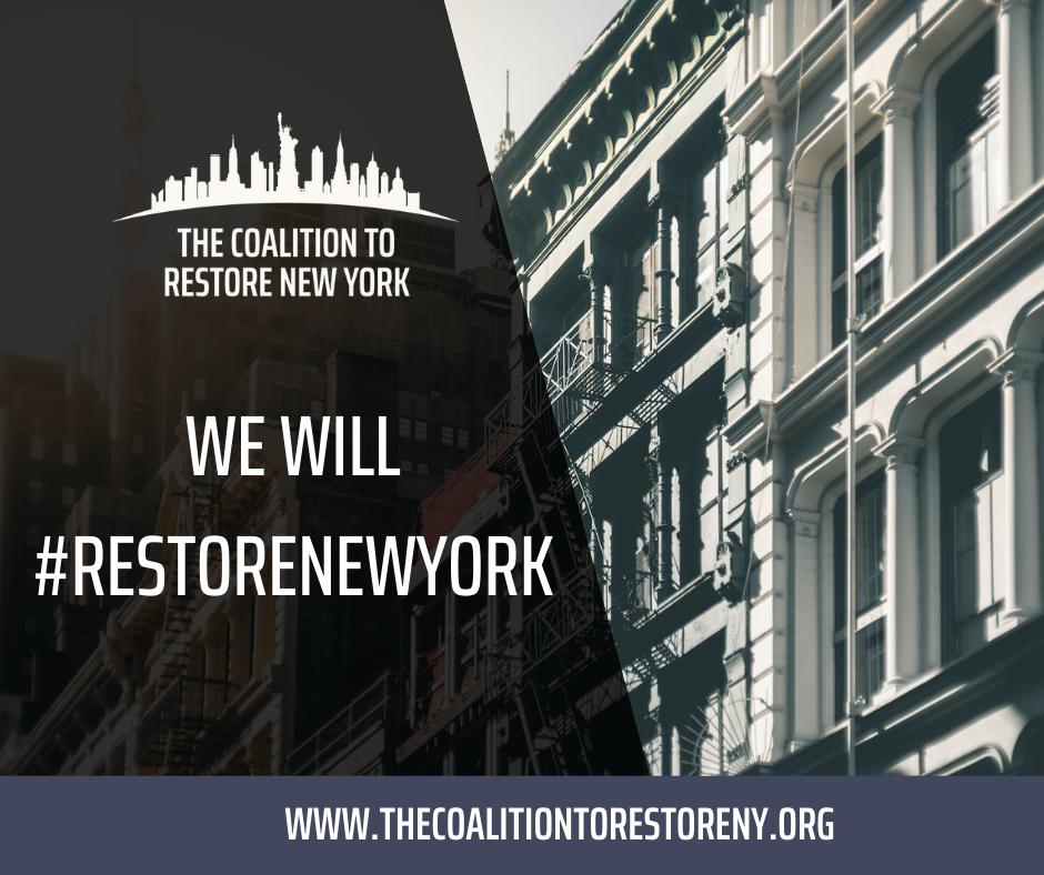 We Will #RestoreNew York - Facebook Post