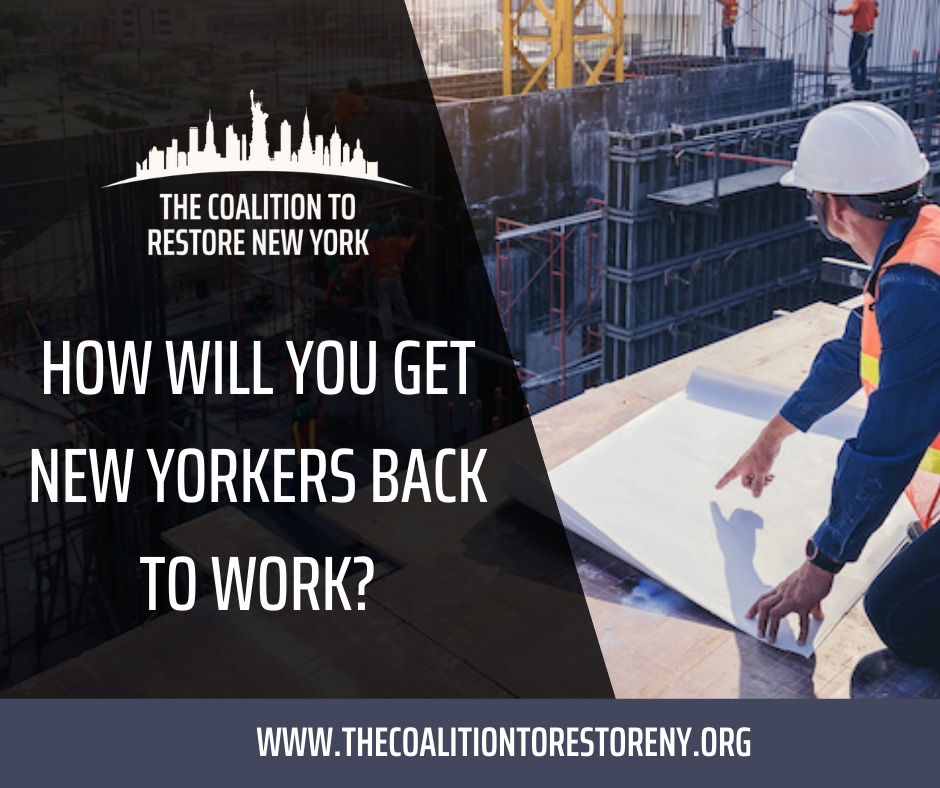 How Will You Get New Yorkers Back to Work? - Facebook Post